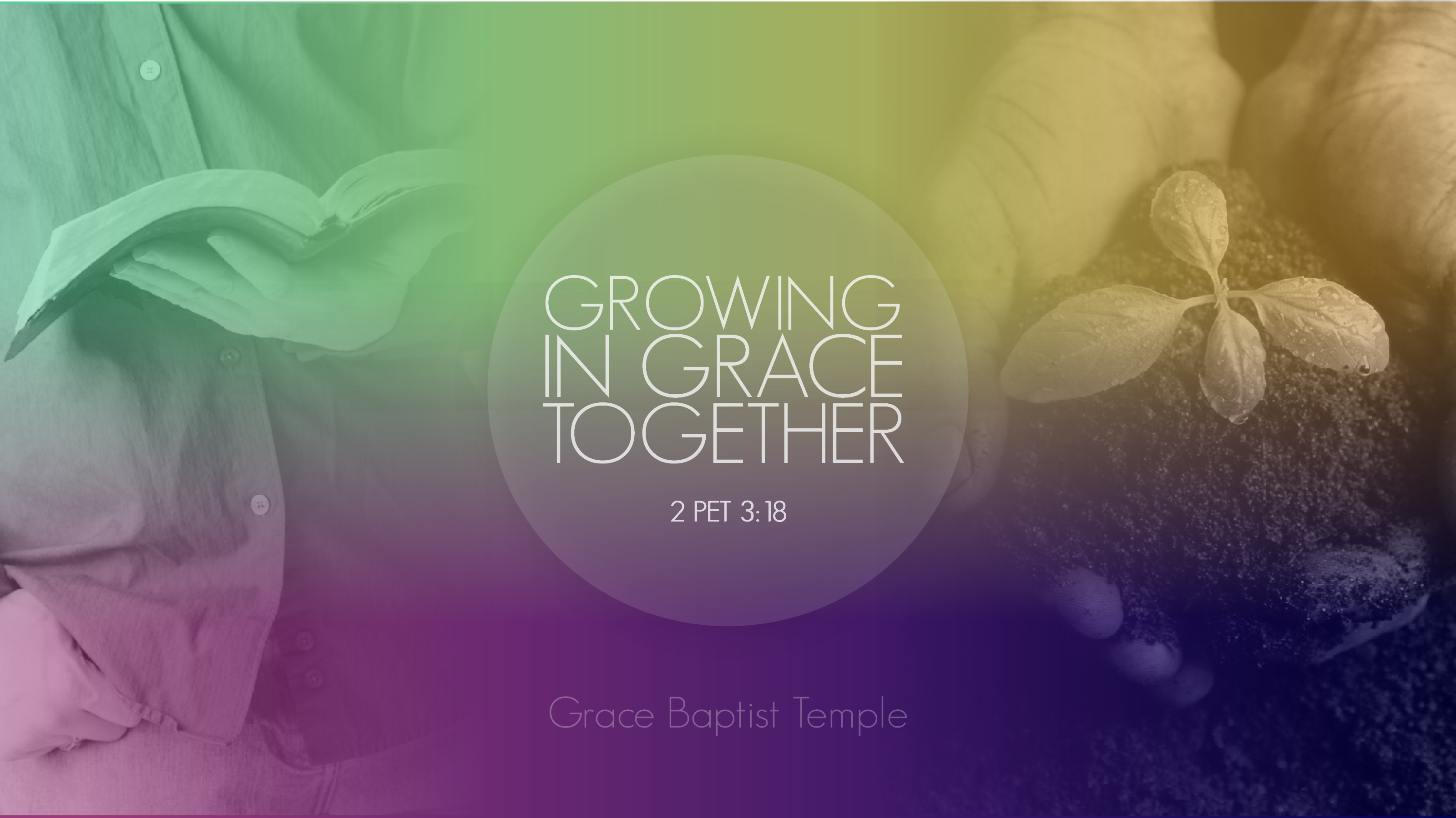 growing together in grace essay